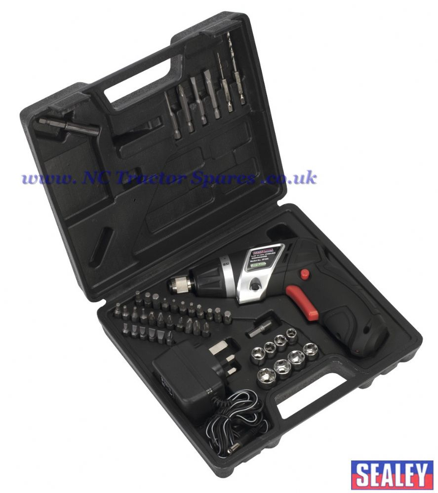 Cordless Lithium-ion Screwdriver Set 46pc 3.6V
